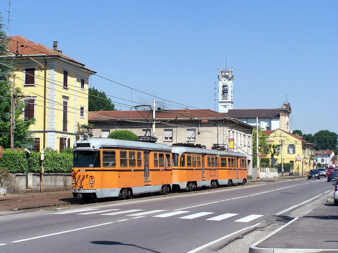 L'ultimo vero tram interurbano, da Comasina a Limbiate, in provincia di Monza