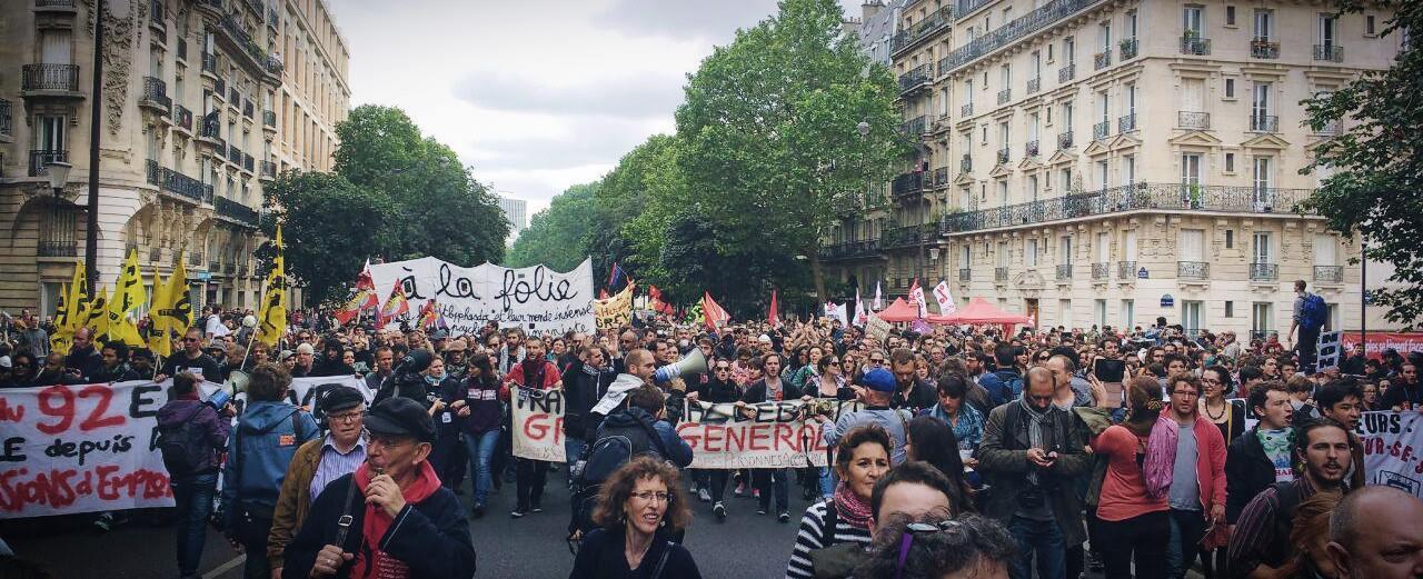 Foto via Nuit Debout / Facebook