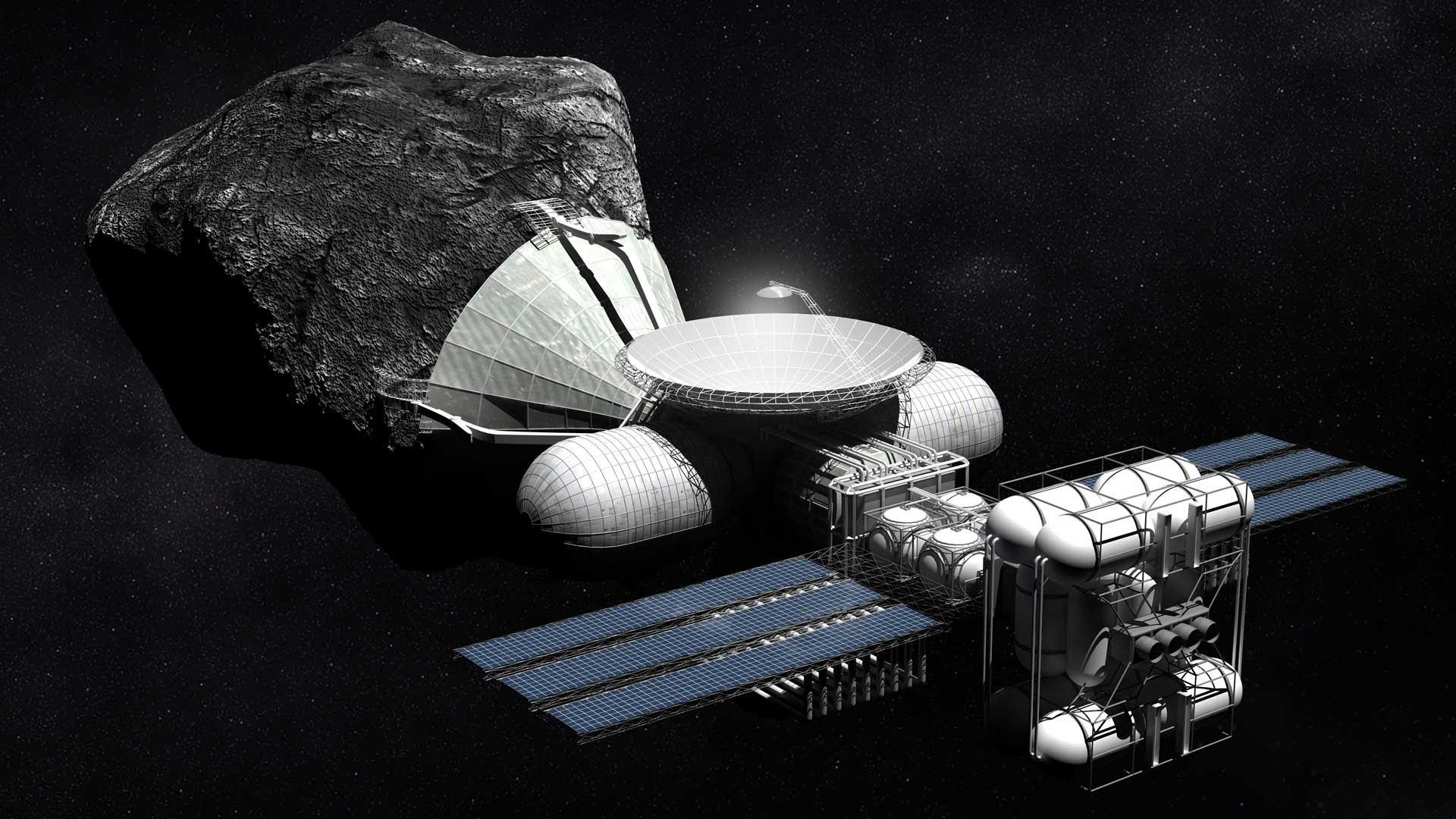 Asteroid mining @NASA