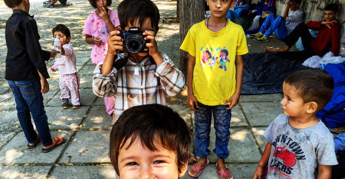 Bambini-afghani