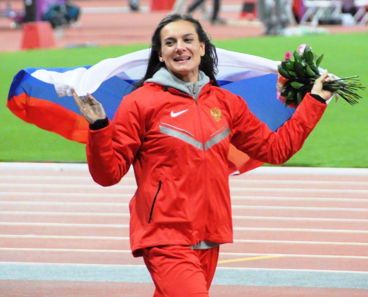Yelena Isinbayeva / Wikimedia Commons