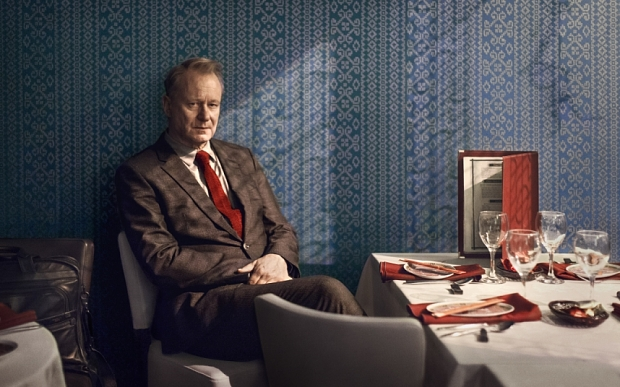 Programme Name: River - TX: n/a - Episode: River - First Look (No. n/a) - Picture Shows:  John River (STELLAN SKARSGARD) - (C) Kudos - Photographer: Nick Briggs