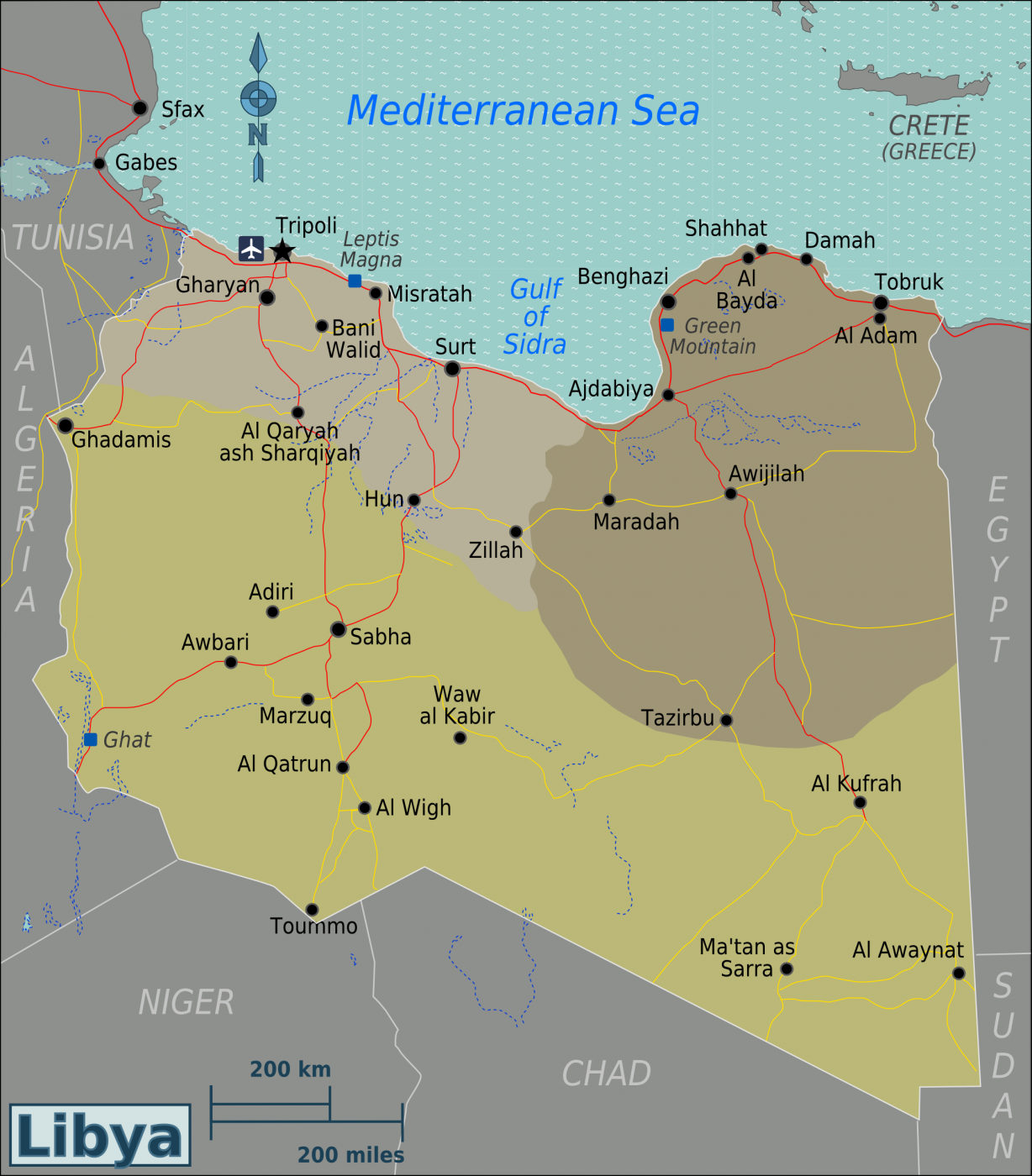 libya_regions_map