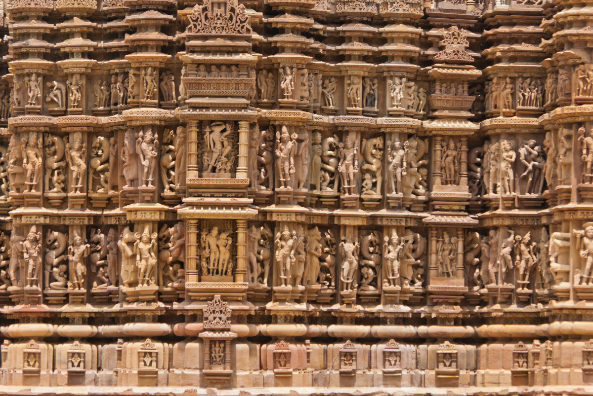 Le sculture di Khajuraho / Wikimedia Commons