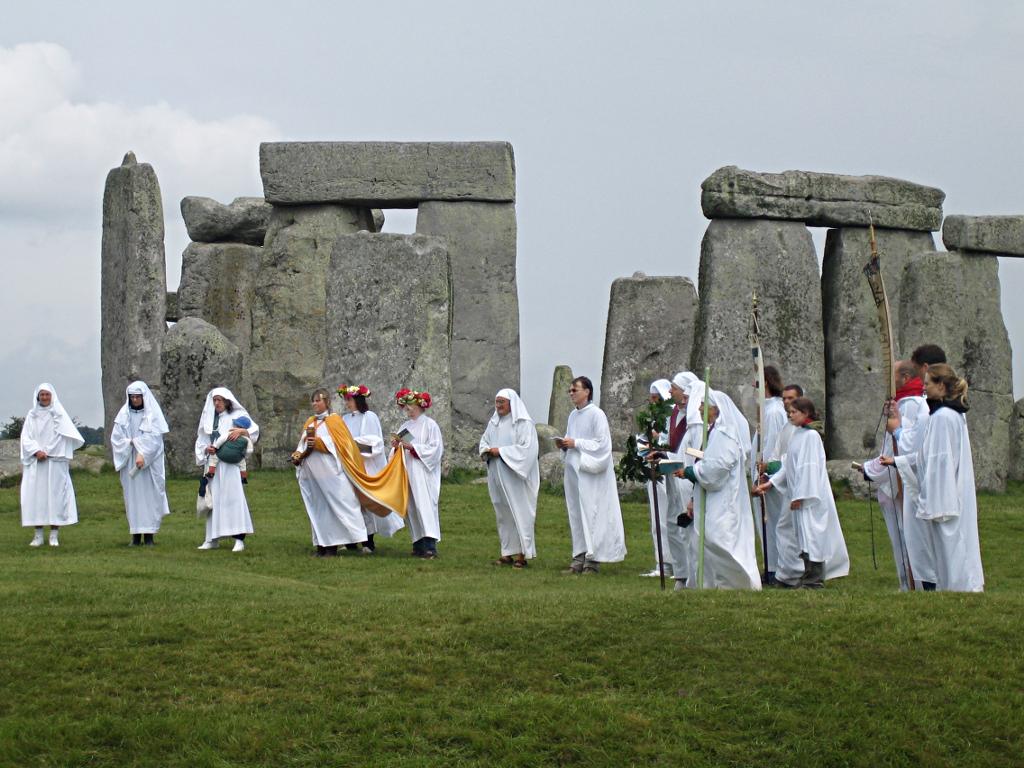 No, neanche noi sapevamo che i druidi portassero la kefiah.