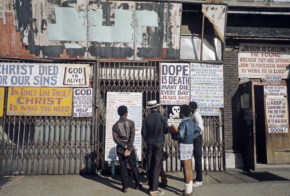 Harlem negli Anni 60. Foto di Jack Garofalo