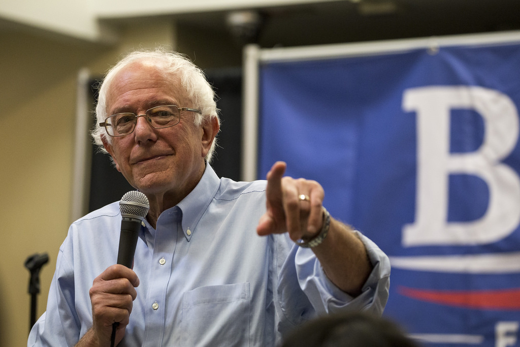 Bernie Sanders, settembre 2015 / CC Phil Roeder, Flickr