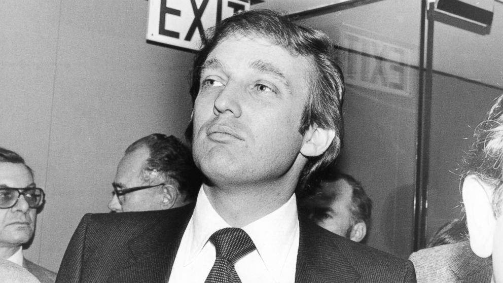 Donald Trump, nei favolosi anni '80