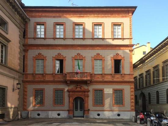 La facciata dell'abitazione.