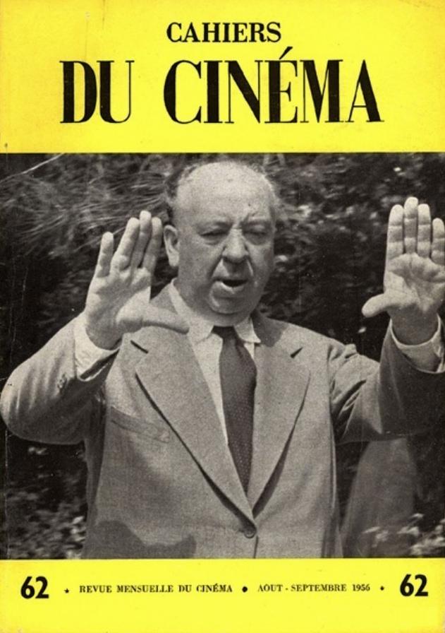 Hitchcock sulla copertina dei Cahiers.