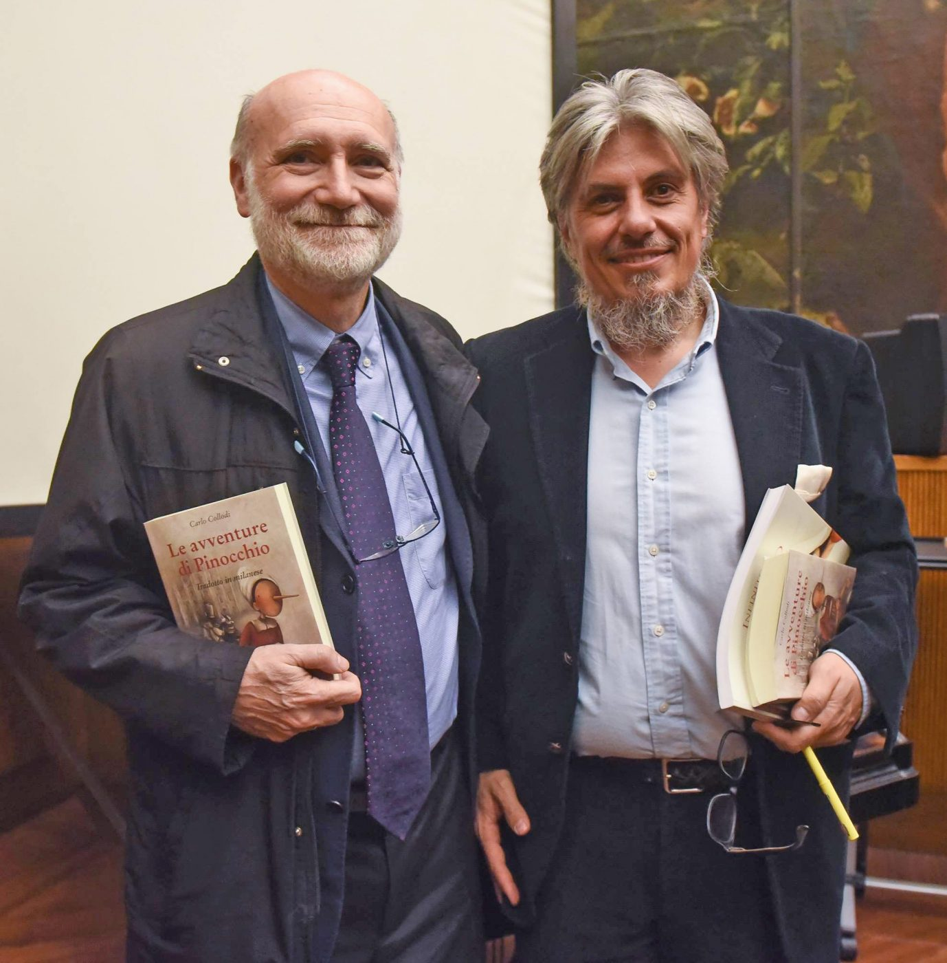 Da sinistra: Sergio Malavasi e Matteo Luteriani