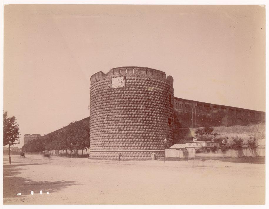 Il Castello prima dei restauri del 1880.