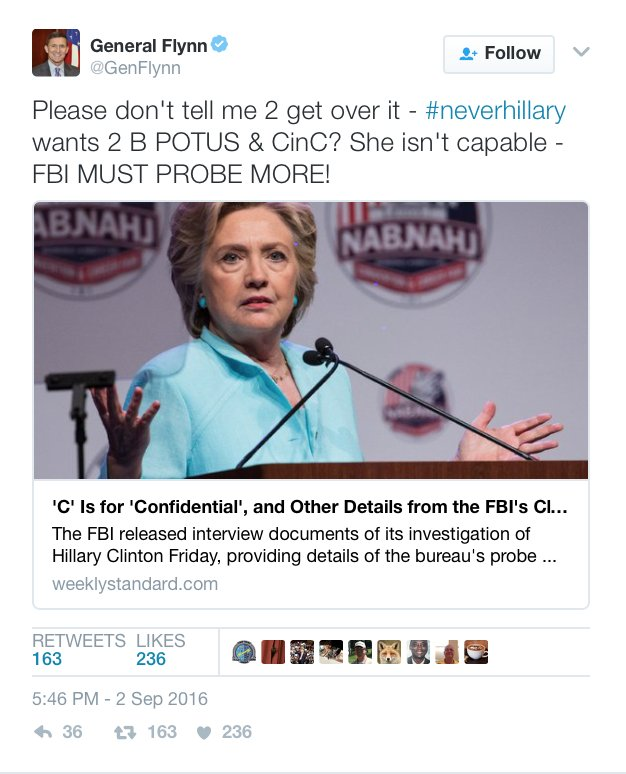 L'FBI DEVE INDAGARE ANCORA!