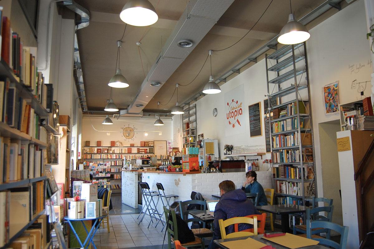 Osteria dell'Utopia & Libreria Zivago, Via Vallazze 34
