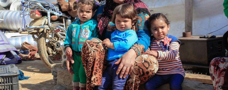Foto di Lys Arango per Azione contro la Fame. Campo rifugiati di Zahle, Libano.