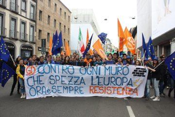 Striscione GD Milano