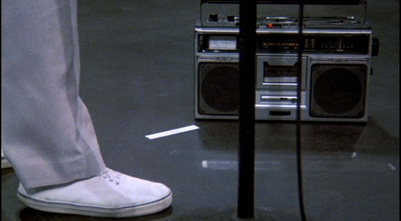 "L'inizio di ""Psycho Killer"" in Stop Making Sense."