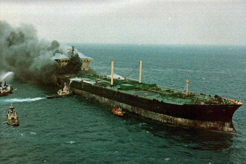La petroliera Agip Abruzzo / Wikimedia Commons