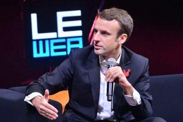 Il nuovo presidente della Francia Macron