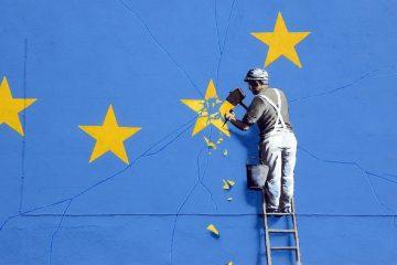 La Brexit secondo Banksy (dettaglio)