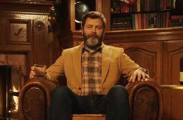 nick-offerman-yule-log