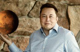 Elon Musk e il pianeta rosso