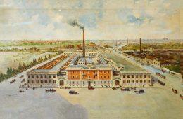 La distilleria di Fernet Branca in via Resegone.