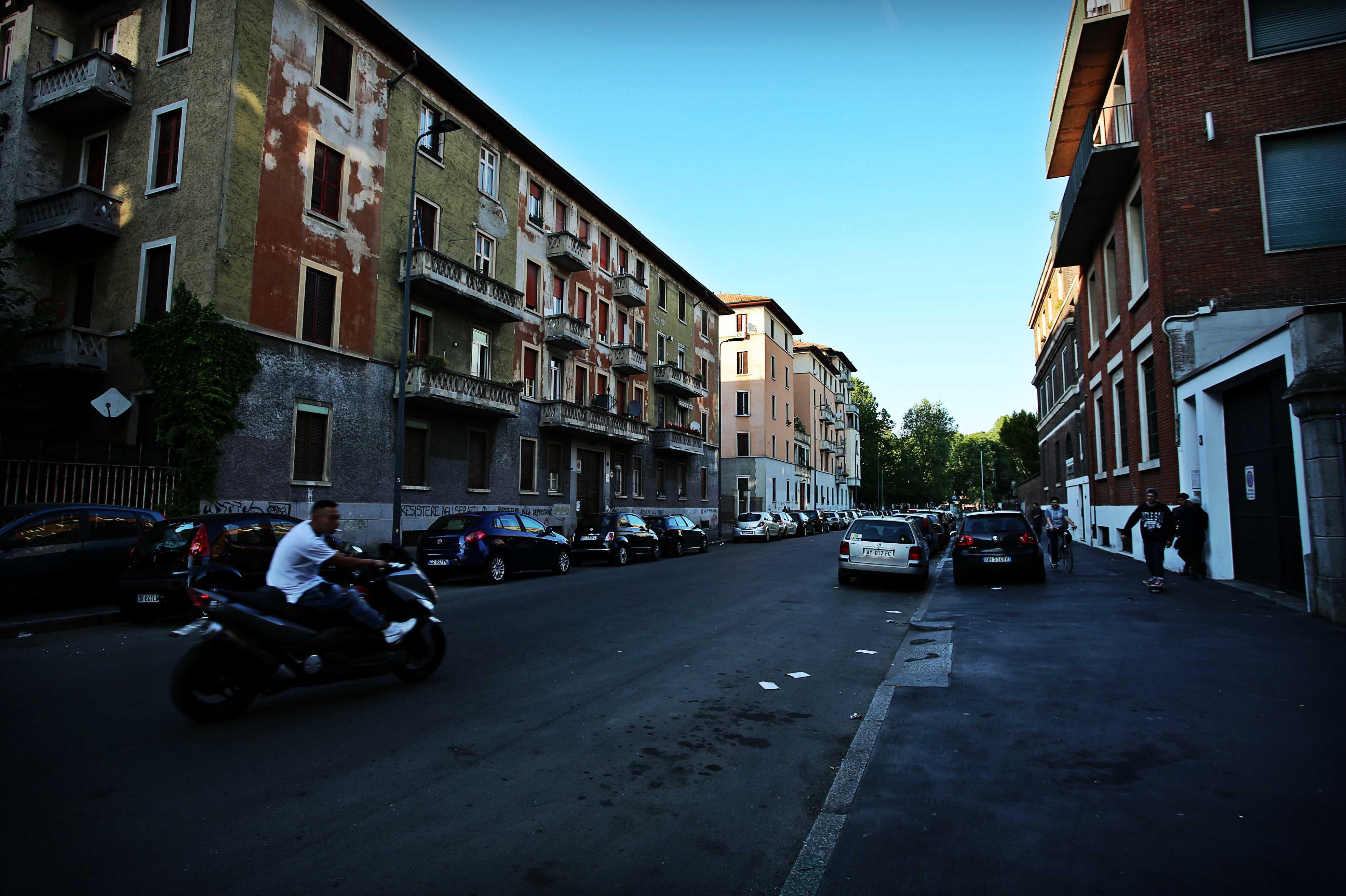 Quartiere Mazzini, via dei Cinquecento