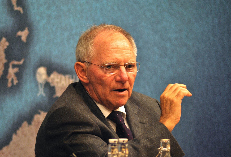 Il ministro delle finanze tedesco Wolfgang Schauble (foto CC Wikimedia Commons)