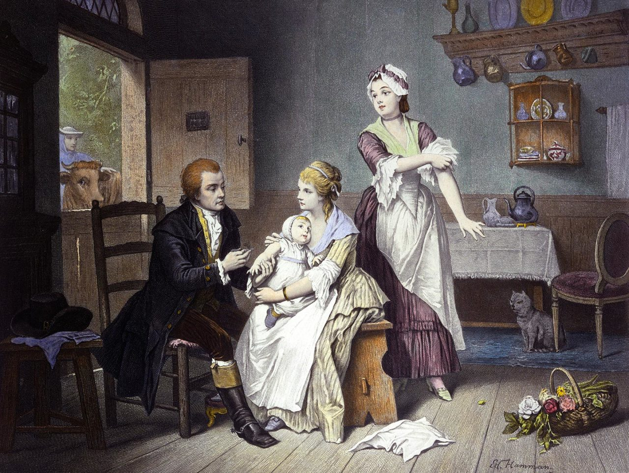 https://thesubmarine.it/wp-content/uploads/2017/07/Edward_Jenner_vaccinating_his_young_child_held_by_Mrs_Jenn_Wellcome_L0011550-1280x963.jpg