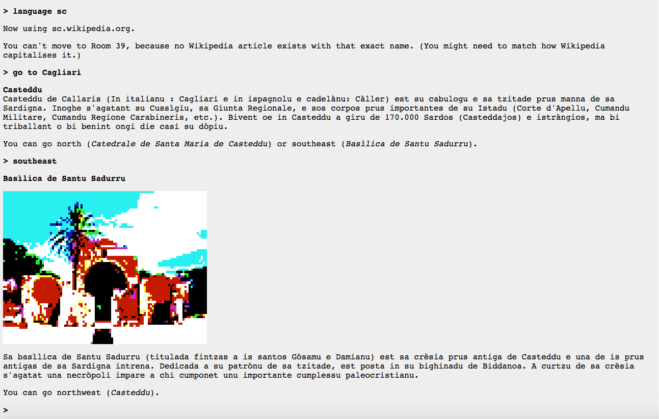 wikipedia: the text adventure 2