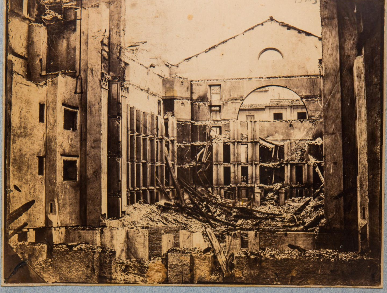 Teatro Alibert, interno, 1870