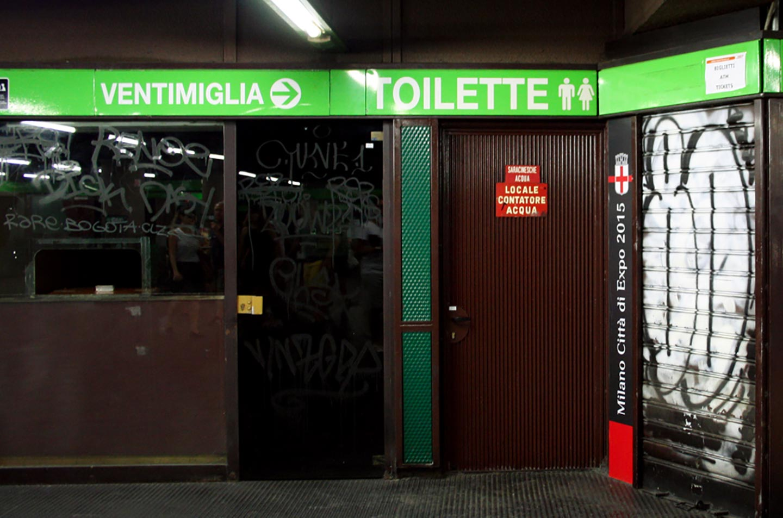 Il mondo domestico dei bagni pubblici di stazione porta genova u2013 the