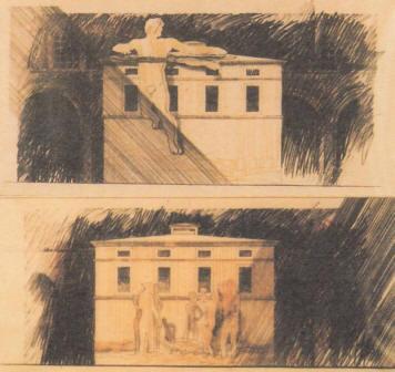 Schizzi, dal sito di Mario Ceroli
