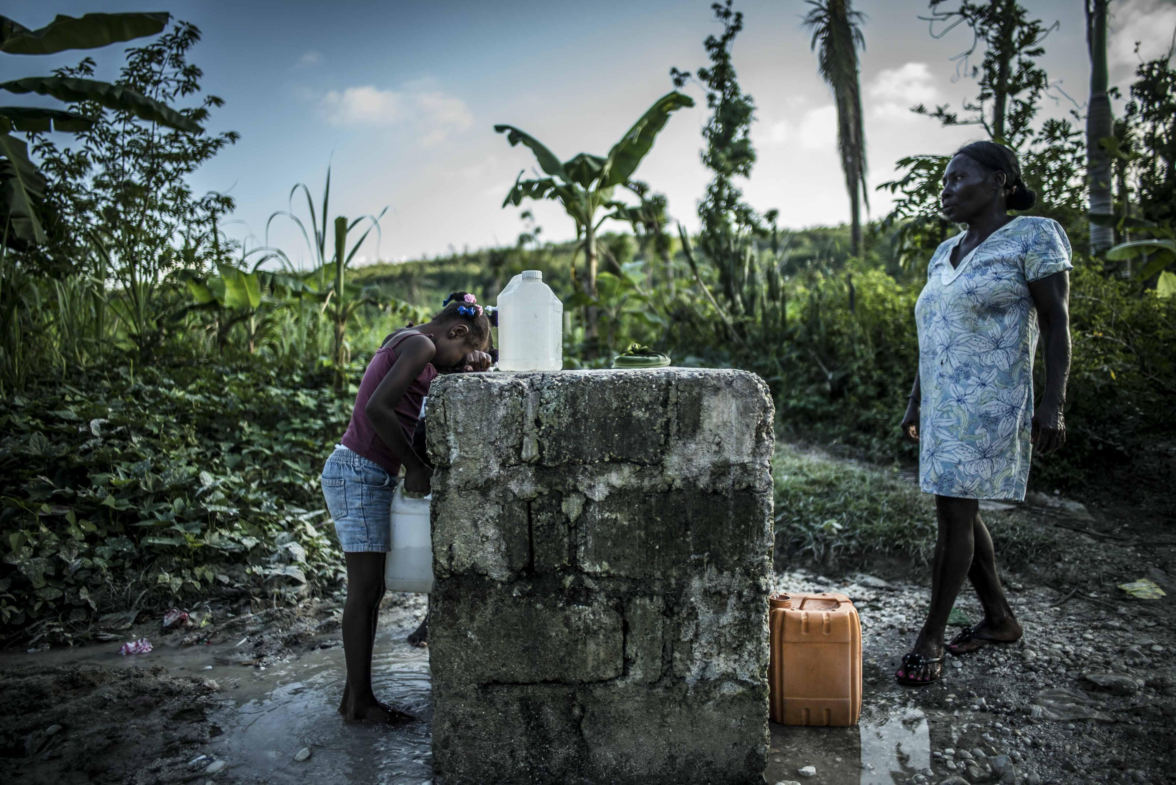 Olivier Papegnies, Haiti, Forgotten Cholera Outbreak Lo scoppio del colera, epidemia dimenticata ad Haiti © Olivier Papegnies/Collectif Huma