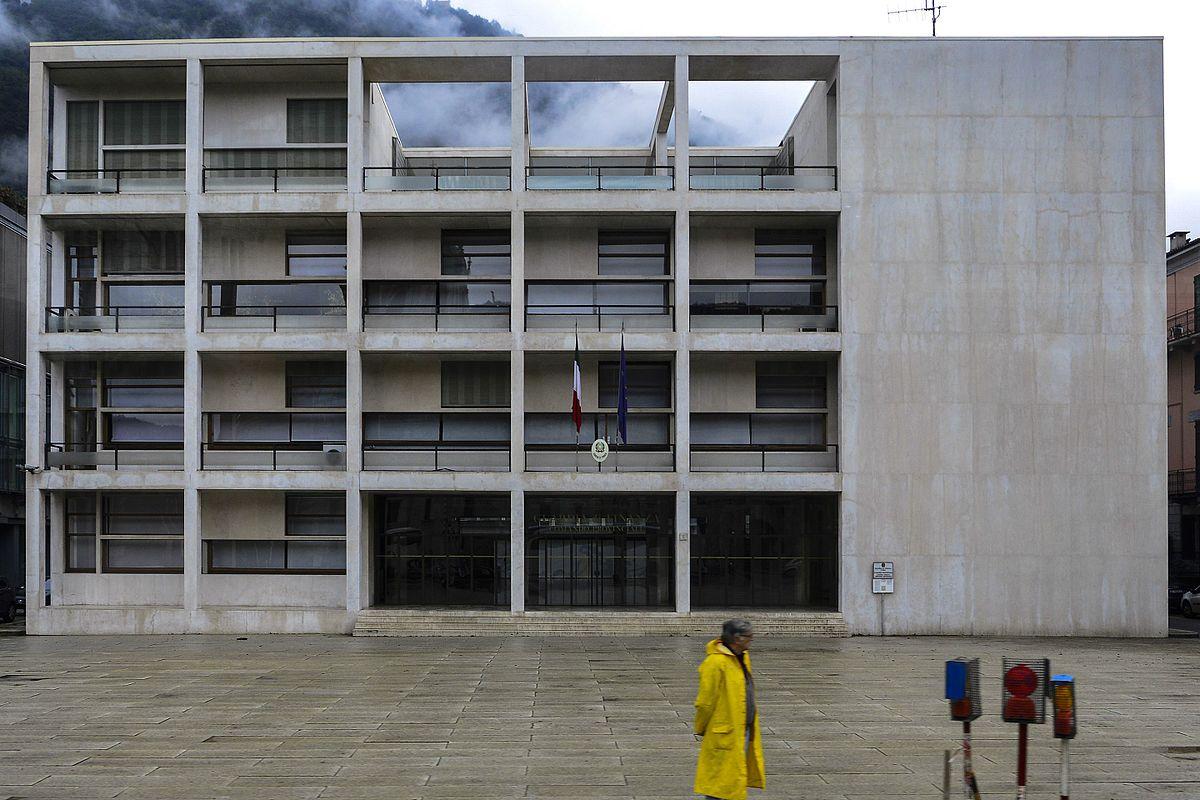 L'ex Casa del Fascio a Como, progettata da Giuseppe Terragni