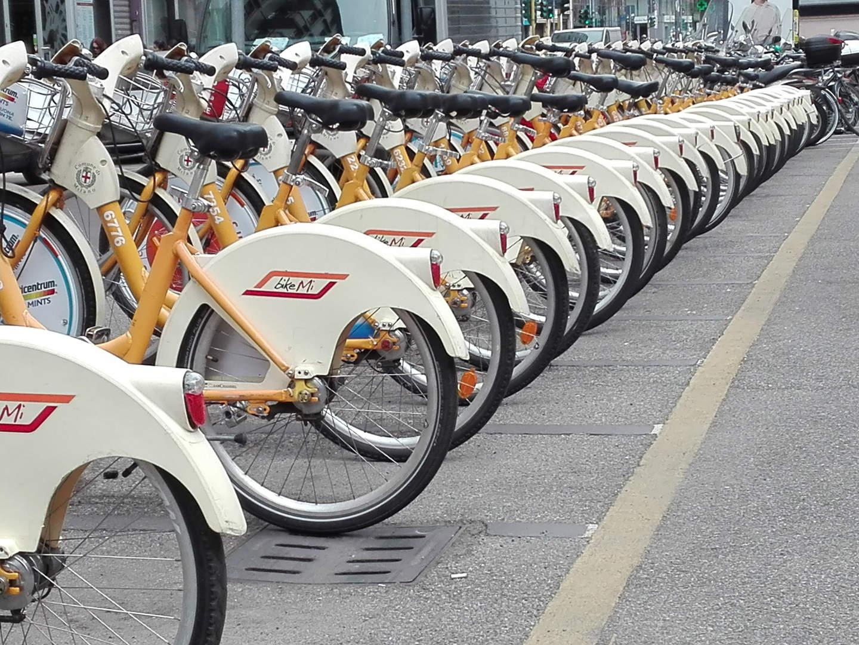 Bikemi Spring Bicycles Milan Bike Bike Sharing