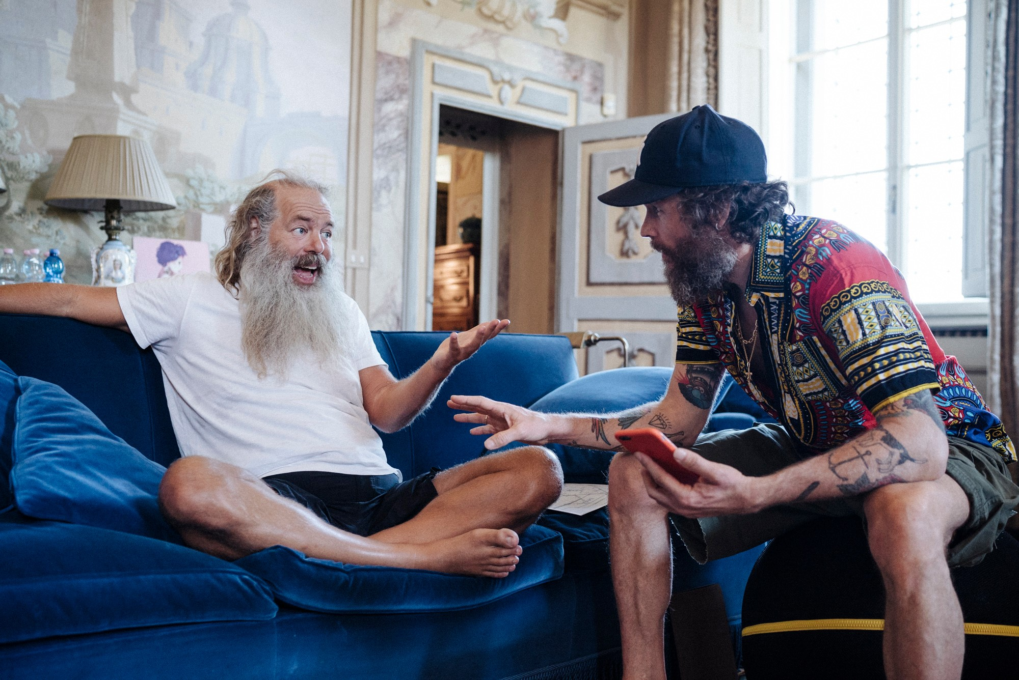 Jovanotti e Rick Rubin / Foto via Facebook
