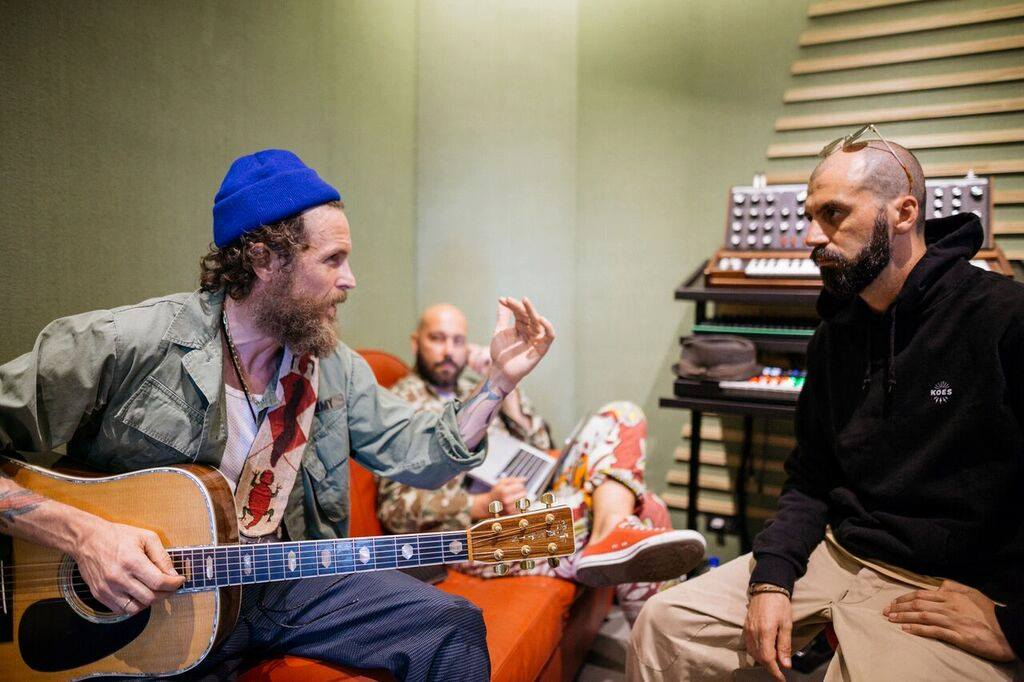 Jovanotti in studio / Facebook