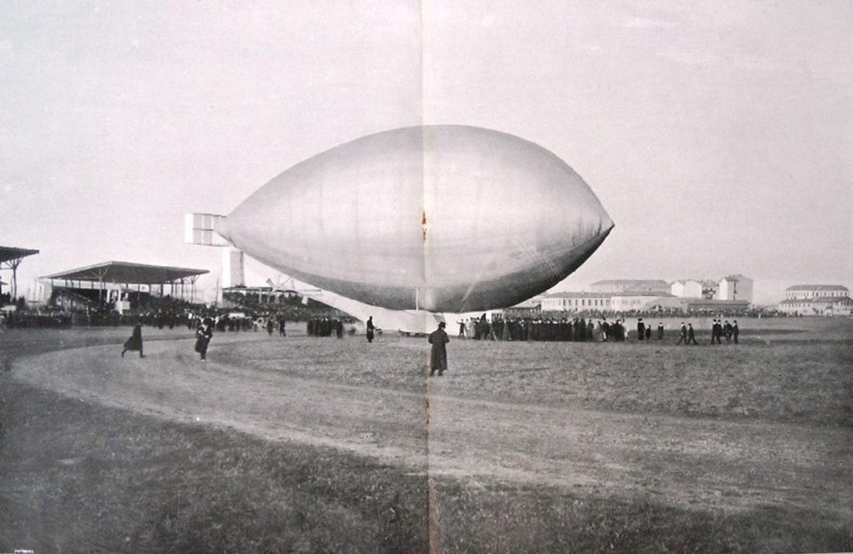 Una mandorla gigante ovvero il dirigibile Forlanini