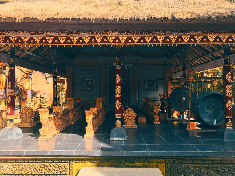 Orchestra di Gamelan a Ubud, Royal Palace