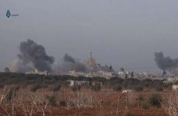 syrian_air_force_bombs_tah_in_idlib_governorate