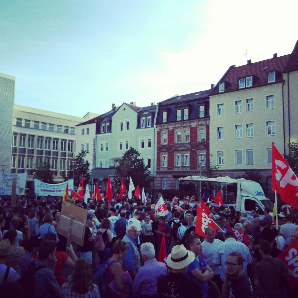 Proteste a Norimberga