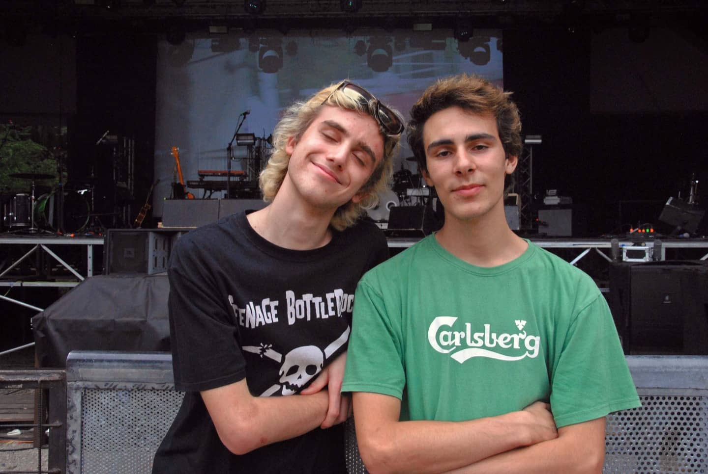 Cesare e Lorenzo, 18 anni, di La Spezia.
