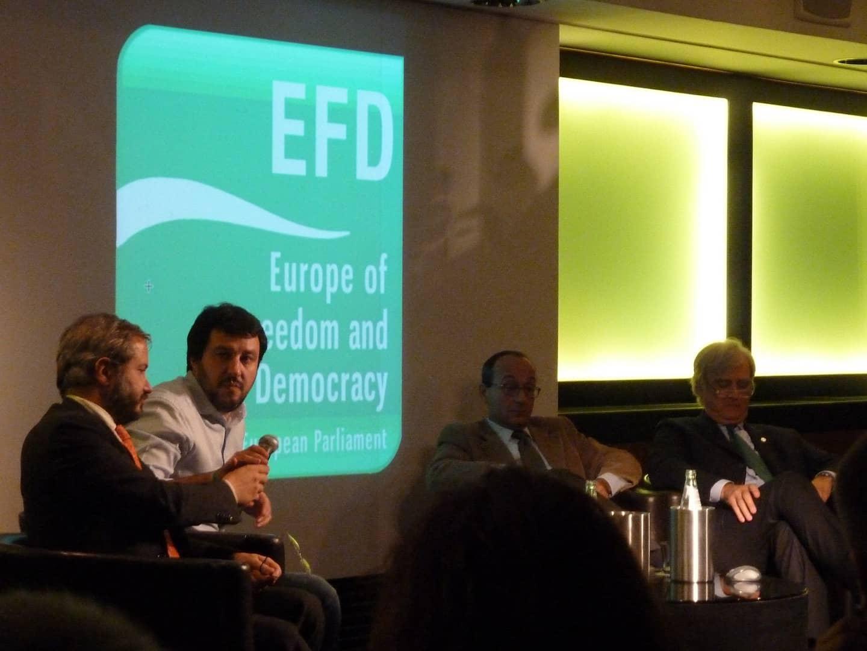 """Convegno """"No Euro Day"""" foto cc Fabio Visconti"""