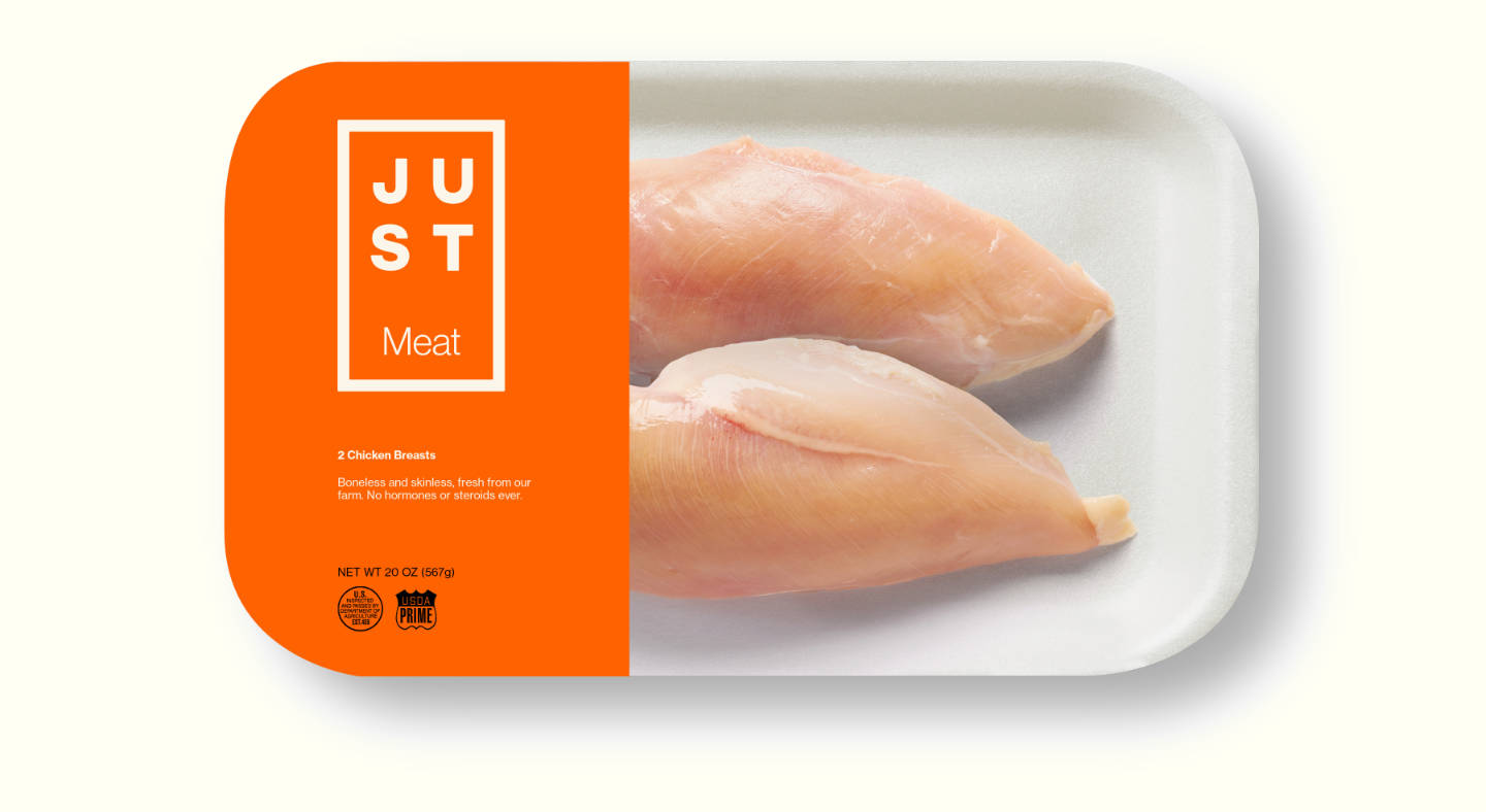 Un esempio di packaging di Just