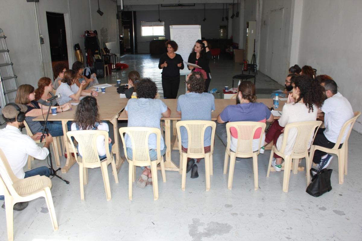Foto dal sito del Teatro Zoukak