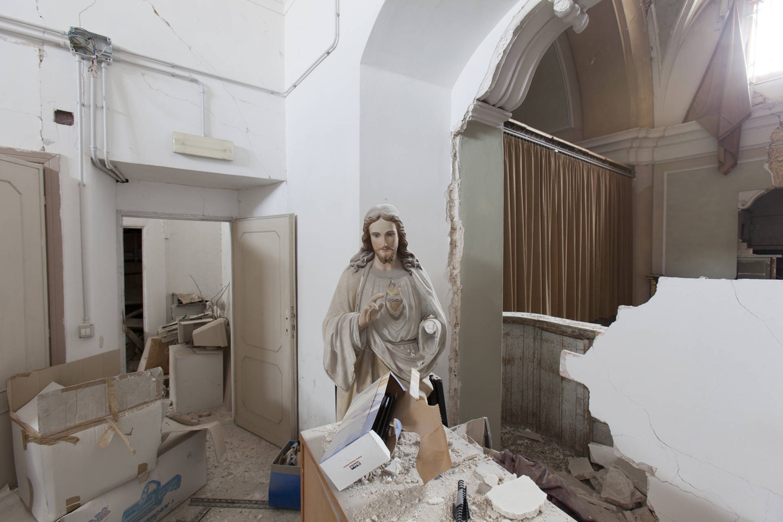 © Enzo Francesco Testa, Chiesa di Sant'Agostino, L'Aquila 2016
