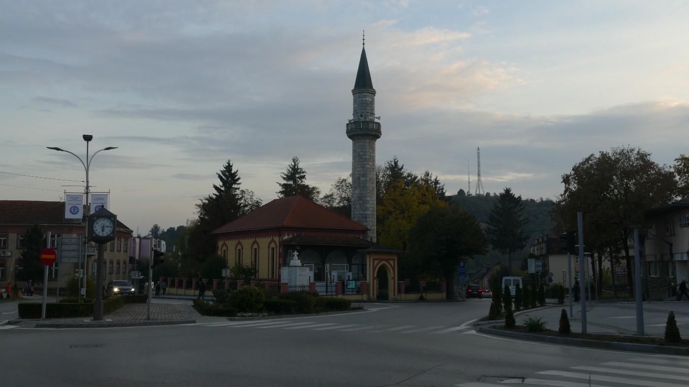 Il centro storico di Velika Kladusa