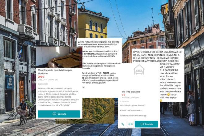 Gli annunci più assurdi che ho visto cercando casa a Milano